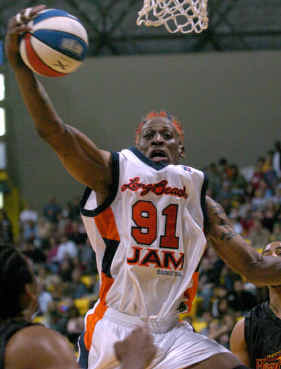 Dennis Rodman courtesy AP